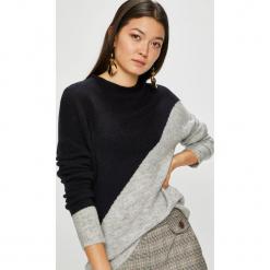 Jacqueline de Yong - Sweter Eva. Szare swetry klasyczne damskie marki Jacqueline de Yong, l, z dzianiny. Za 119,90 zł.