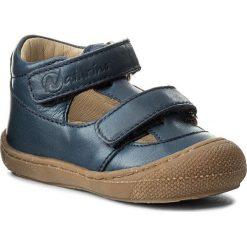 Sandały męskie skórzane: Sandały NATURINO – 0012012117.01.9108 Navy Fondo Ambra