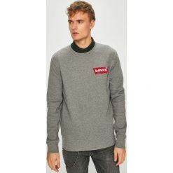 Levi's - Bluza. Brązowe bluzy męskie rozpinane marki Levi's®, l, z bawełny, bez kaptura. Za 239,90 zł.
