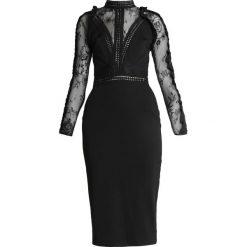 Forever Unique Sukienka koktajlowa black. Czarne sukienki koktajlowe Forever Unique, z elastanu. Za 439,00 zł.