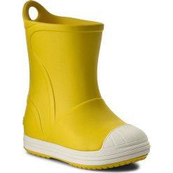 Kalosze chłopięce: Kalosze CROCS - Bump It Boot 203515 Yellow/Oyster