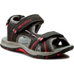 Sandały MERRELL - Panther Sandal MC53338 Black/Red. Czarne sandały męskie skórzane marki Merrell. W wyprzedaży za 159,00 zł.