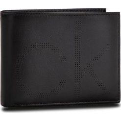 Duży Portfel Męski CALVIN KLEIN - Ck Point 5Cc Coin K50K503958 001. Czarne portfele męskie Calvin Klein, ze skóry. Za 279,00 zł.