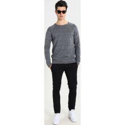 Swetry klasyczne męskie: Selected Homme CLASH Sweter grey