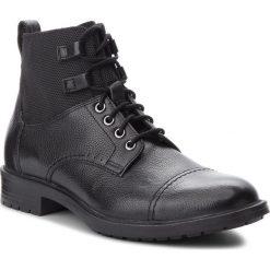 Kozaki GEOX - U Kapsian D U843PD 04611 C9999 Black. Czarne buty zimowe męskie Geox, z materiału. W wyprzedaży za 439,00 zł.