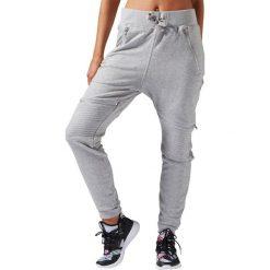 Reebok Spodnie damskie Dance Knit Moto Pant szare r. L (S93784). Spodnie dresowe damskie Reebok, l. Za 149,17 zł.