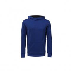Bluzy Reebok Sport  Bluza z kapturem WOR Doubleknit. Niebieskie bluzy męskie Reebok Sport, l, z kapturem. Za 199,00 zł.