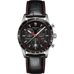 PROMOCJA ZEGAREK CERTINA DS 2 C024.447.16.051.03. Czarne zegarki męskie marki CERTINA, ze stali. W wyprzedaży za 2574,00 zł.
