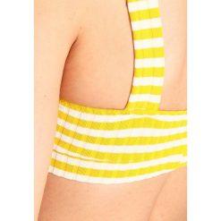 Stroje dwuczęściowe damskie: Solid & Striped MADISON  Góra od bikini mustard