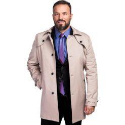 Płaszcz PIETRO 15-50LK. Brązowe płaszcze na zamek męskie marki Cropp, na zimę, l, sportowe. Za 499,00 zł.