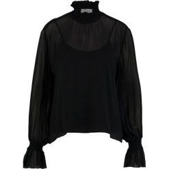 Bluzki asymetryczne: JUST FEMALE ASTA BLOUSE Bluzka black