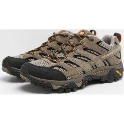 Merrell MOAB 2 VENT Obuwie hikingowe pecan. Brązowe buty sportowe męskie Merrell, z materiału, outdoorowe. Za 459,00 zł.