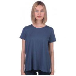 Mustang T-Shirt Damski S Ciemnoniebieski. Niebieskie t-shirty damskie marki Mustang, z aplikacjami, z bawełny. W wyprzedaży za 99,00 zł.