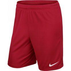 Spodenki i szorty męskie: Nike Spodenki piłkarskie PARK II M 725887-657 czerwone M