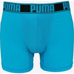 Puma - Bokserki (2-pack). Niebieskie bokserki męskie Puma, z dzianiny. W wyprzedaży za 79,90 zł.