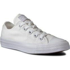 Trampki CONVERSE - Ct As Sp Ox 1U647 White Monoch. Białe tenisówki męskie Converse, z gumy. Za 279,00 zł.