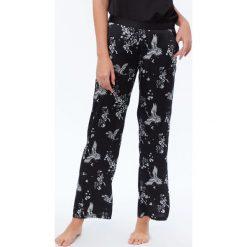 Etam - Spodnie piżamowe. Niebieskie piżamy damskie marki Etam, l, z bawełny. Za 119,90 zł.
