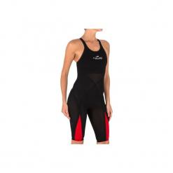 Kombinezon startowy pływacki FINA B-FAST damski. Brązowe kombinezony damskie marki bonprix, na ramiączkach. Za 499,99 zł.