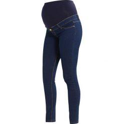 DP Maternity OBINDA  Jeans Skinny Fit indigo. Niebieskie jeansy damskie DP Maternity. Za 139,00 zł.