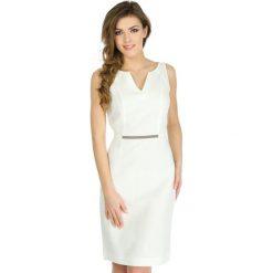 Odzież damska: Sukienka Naf Naf w kolorze kremowym