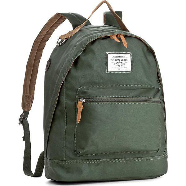 0d9f6d6b2a497 Plecak PEPE JEANS - Ledbury North PM030468 Bleach Green 610 - Zielone  plecaki męskie Pepe Jeans