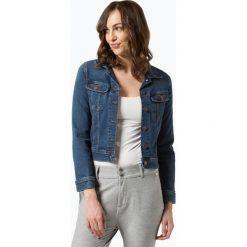 Lee - Damska kurtka jeansowa, niebieski. Niebieskie kurtki damskie jeansowe Lee, l. Za 439,95 zł.