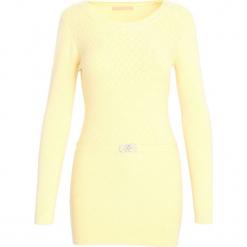 Żółty Sweter From Me. Żółte swetry klasyczne damskie marki Mohito, l, z dzianiny. Za 29,99 zł.