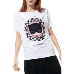 Pati bluzka Unicorno. Niebieskie bluzki damskie marki Pakamera, z bawełny. Za 139,00 zł.
