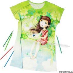 Odzież dziecięca: Szczęśliwa – sukienka dziewczęca