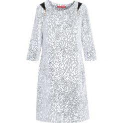 Biała Sukienka Work For. Białe sukienki marki Born2be, midi. Za 49,99 zł.
