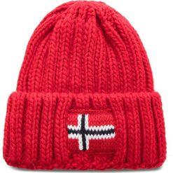 Czapka NAPAPIJRI - K Semiury 2 N0YID2 Pop Red R41. Czerwone czapki męskie marki Napapijri, z materiału. W wyprzedaży za 139,00 zł.