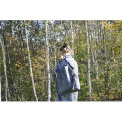 Torba hobo XXL - grafit. Szare torebki klasyczne damskie Pakamera, z syntetyku. Za 129,00 zł.