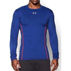 Under Armour Koszulka męska Armour Stretch Mock niebieska r. M (1259975420). Niebieskie t-shirty męskie marki Under Armour, m. Za 229,90 zł.