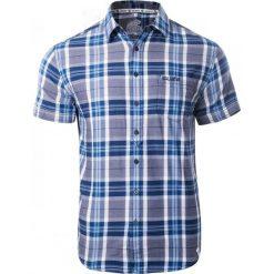 Koszule męskie na spinki: IGUANA Koszula męska Tamaro Mood Indigo check/high rise r. M