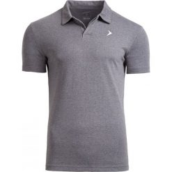 Koszulka polo męska TSM610A - średni szary melanż - Outhorn. Szare koszulki polo Outhorn, na lato, m, melanż, z bawełny. W wyprzedaży za 39,99 zł.