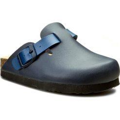 Klapki DR. BRINKMANN - 505445-5 Ozean/Navy. Niebieskie sandały chłopięce Dr. Brinkmann, z materiału. W wyprzedaży za 129,00 zł.