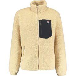 Swetry męskie: Fila ZOLTAN SHERPA FLEECE  Bluza rozpinana marzipan