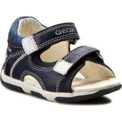 Buty męskie: Sandały GEOX - B San.Tapuz B. A B720XA 08532 C4211 Morski/Biały