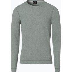 T-shirty męskie: BOSS Casual – Męska koszulka z długim rękawem – Tempest, zielony
