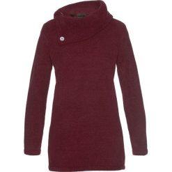 Sweter bonprix czerwony klonowy. Czerwone golfy damskie marki bonprix, z materiału. Za 74,99 zł.