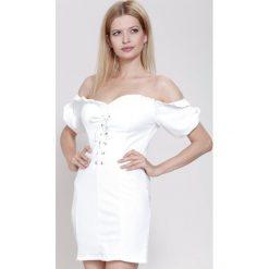 Sukienki: Biała Sukienka Landscape