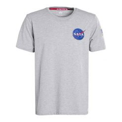Space Shuttle T-Shirt GREY HEATHER. Brązowe t-shirty męskie Alpha Industries. Za 127,49 zł.