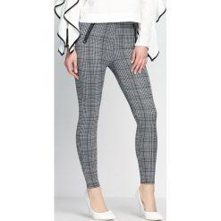 Spodnie damskie: Szare Spodnie Legs Shakin'