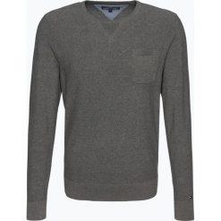 Swetry klasyczne męskie: Tommy Hilfiger – Sweter męski – Parnell, szary