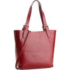 Torebka CREOLE - K10479  Bordowy. Czerwone torebki klasyczne damskie Creole, ze skóry. Za 269,00 zł.