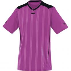 Bluzki sportowe damskie: Jako Copa krótki rękaw Koszulka – mężczyźni – fioletowe / black_l