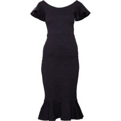 Opening Ceremony MEDALLION JACQUARD LOTUS DRESS Sukienka letnia black. Czarne sukienki letnie Opening Ceremony, z elastanu. W wyprzedaży za 1043,60 zł.