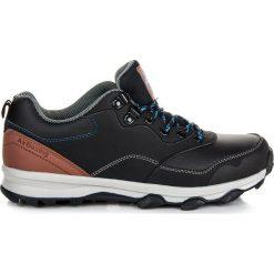 Buty trekkingowe męskie: AX BOXING Buty męskie Adalynn czarno-brązowe r. 43