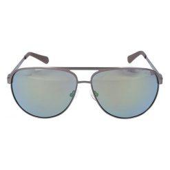 """Okulary przeciwsłoneczne męskie: Okulary przeciwsłoneczne """"GU6841"""" w kolorze srebrnobrązowym"""