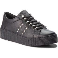 Sneakersy LASOCKI - WI23-PIETRA-12 Czarny. Czarne sneakersy damskie Lasocki, z materiału. Za 169,99 zł.